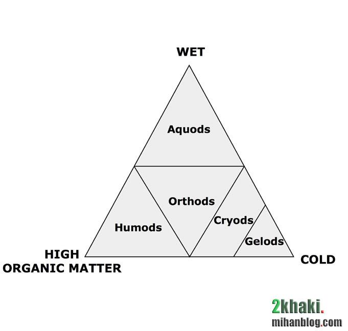 دو خاکی - زیرردههای خاک های اسپودوسول
